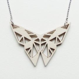 Origami vlinder ketting blocks