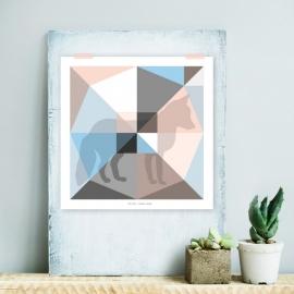 Origami artprint vos