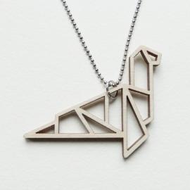 Origami Monster van Loch Ness ketting open