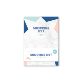 Shoppinglist A6