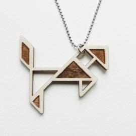 Tangram paard ketting blocks