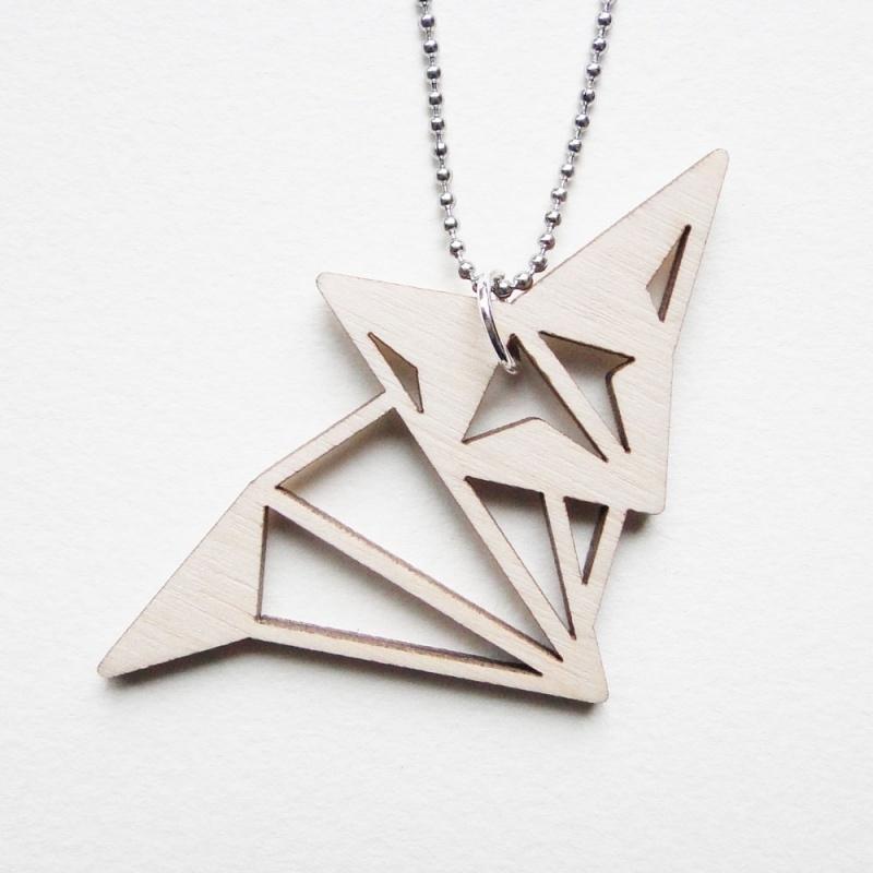 Origami vos ketting blocks
