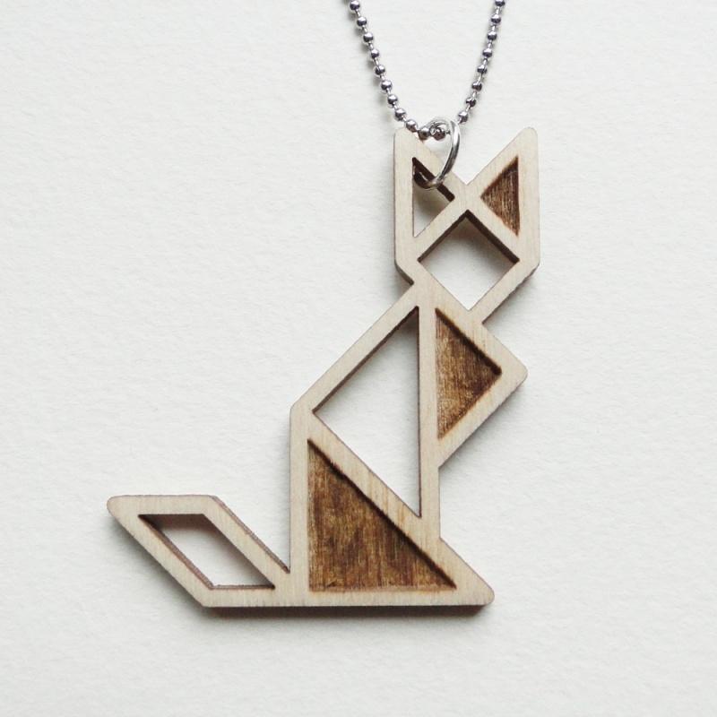 Tangram kat ketting blocks