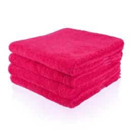 Handdoek met naam (fuchsia)