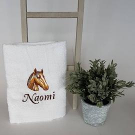 Handdoek met afbeelding