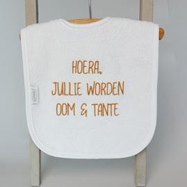 Slab wit | Hoera jullie worden oom en tante!!