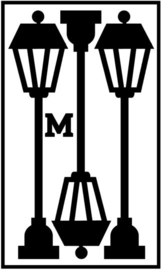 Herbruikbare statische raamfolie | Lantarens M