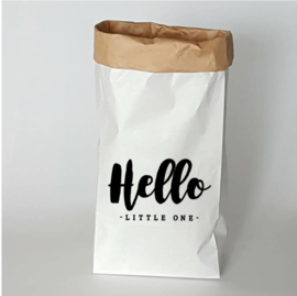 Paperbag Hello little one