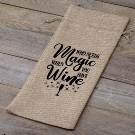 Wijnfleszak | Who needs magic when you have wine