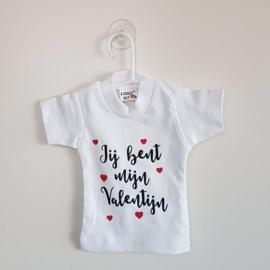 Mini t-shirt | Jij bent mijn Valentijn