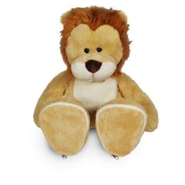 Knuffel leeuw | afritsbare voetjes