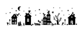 Raamsticker Sinterklaas (statische raamfolie)