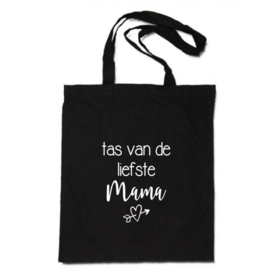 Katoenen tas | tas van de liefste Mama (hart)