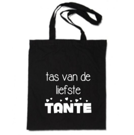 Katoenen tas | tas van de liefste Tante!