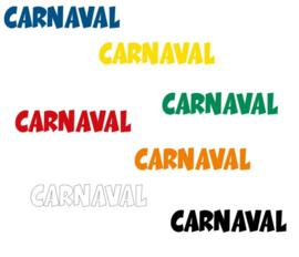Herbruikbare statische raamfolie | Carnaval