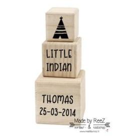Little Indian (houten blokken)