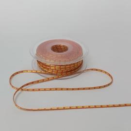Lint 3mm | oranje | 5 meter