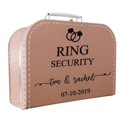 Kinderkoffertje kraft | Ring Security ringen