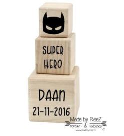 Super Hero (houten blokken)