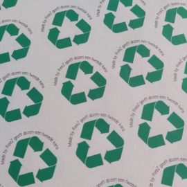 Stickervel | recycle