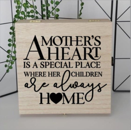 Giftbox | A mother's heart is a special place where her children are always home