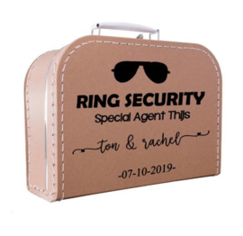 Kinderkoffertje kraft | Ring Security zonnebril