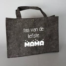 Vilten tas | tas van de liefste mama