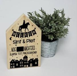 Houten huis   Aftellen tot 5 december