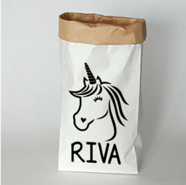 Paperbag unicorn