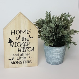 Houten huis | Wicked Witch