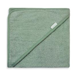 Badcape stone green | met naam