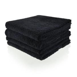 Handdoek met naam (zwart)