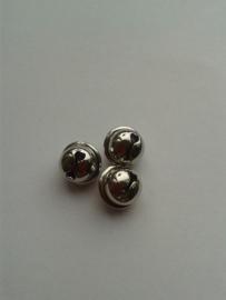 Belletjes zilver | 10mm (10 stuks)