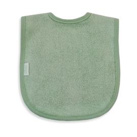 Slab geborduurd met naam | stone green