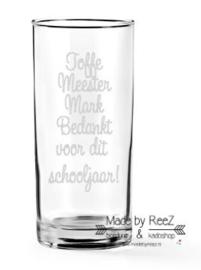Longdrinkglas Toffe Meester