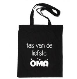 Katoenen tas | tas van de liefste Oma