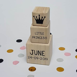 Houten blokken | Little Princess