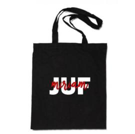 Katoenen tas | Juf met naam