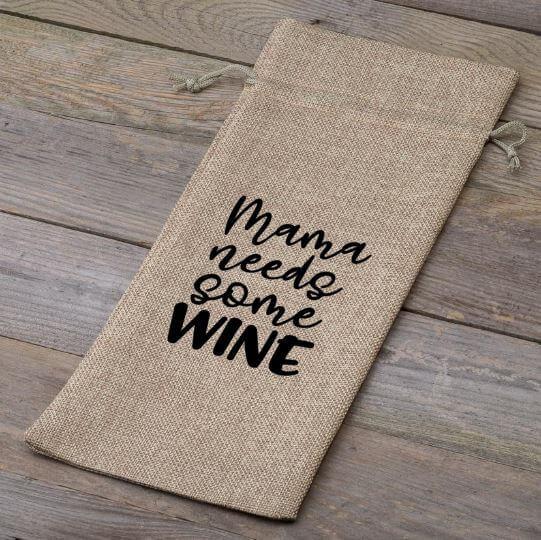 Wijnfleszak |  Mama needs some wine