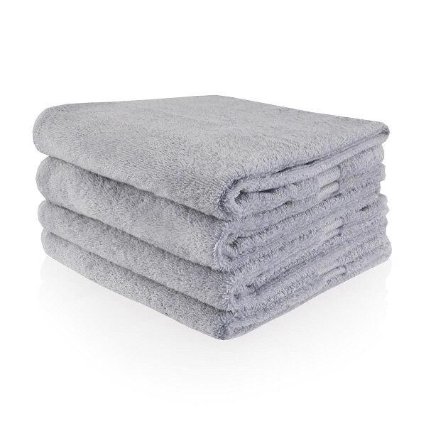 Handdoek met naam (grijs)