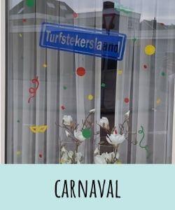 statische raamstickers carnaval