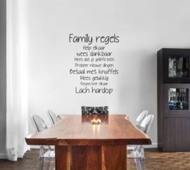 Family regels