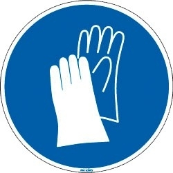 handschoenen verplicht