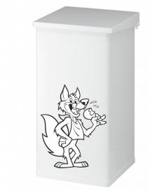 prullenbak sticker bij met emmers prijs vanaf