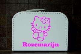 Kinderkoffer met Hello Kitty