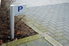 parkeerbord Vlag prijs vanaf  € 60,00 excl.tekst