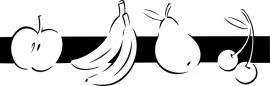 N6-248 keuken sticker ( fruit ) prijs vanaf