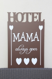 tekstbord:HOTEL MAMA /4 de luxe