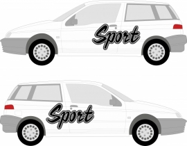 tekst Sport prijs per set vanaf 45,00