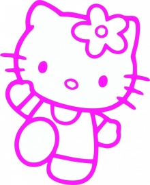 Hello Kitty sticker A2